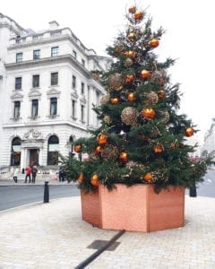 Streetlook Christmas, Decoration, Christmastree, Streets, London, Landscape, Look,