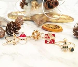 Christmas Accessories  Rings, Armcandy, Fashion, Blog, Fashionblog, Styleblogger, Stylist, Visagist, Christmas