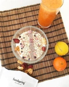 Breakfast time Healthy, Lifestyle, Food, Foodspring, Salzburg, Blogger, Lifestyleblog, Müsli